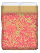 Magnolia Abstract Duvet Cover by Mae Wertz