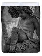 Magnolia Child Statue Duvet Cover