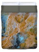Mammoth Hot Springs Duvet Cover by Mae Wertz