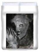 Man In The Dark Duvet Cover