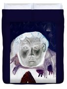 Man With Purple Udders Duvet Cover