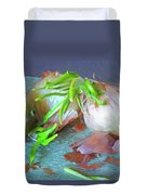 Mango And Two Onions Duvet Cover
