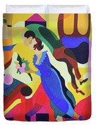 Marc And Bella Chagall Duvet Cover