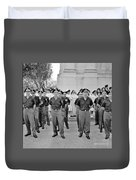 Marchers And Convent Members Duvet Cover