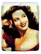Maria Felix, Vintage Actress Duvet Cover