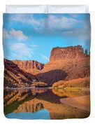 Mat Martin Point And The Colorado Duvet Cover