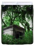 Mausoleum In Georgia IIi Duvet Cover