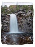 May Evening At Awosting Falls I Duvet Cover