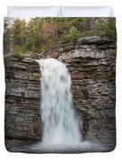 May Evening At Awosting Falls II Duvet Cover