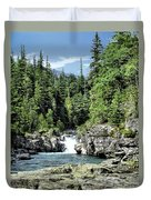 Mcdonald Creek 1 Duvet Cover