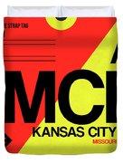 Mci Kansas City Luggage Tag I Duvet Cover