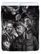 Mechanics Duvet Cover by Clint Hansen