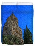 Medieval Bell Tower 5 Duvet Cover
