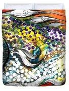 Mediterranean Fish Duvet Cover