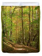 Meigs Creek Trailhead In Smoky Mountains National Park Duvet Cover