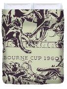 Melbourne Cup 1960 Duvet Cover