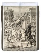 Mercury And Aeneas  State    Duvet Cover