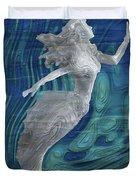 Mermaid - Beneath The Waves Series Duvet Cover
