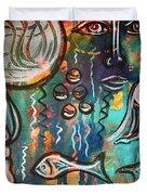 Mermaids Dream Duvet Cover