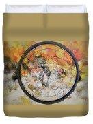 Metatronic Duvet Cover