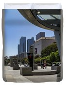 Metro Station Civic Center Los Angeles Duvet Cover
