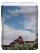 Mexican Hat From San Juan Duvet Cover