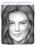 Michelle Monaghan Duvet Cover