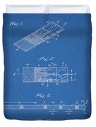 Microscope Slide Patent Duvet Cover