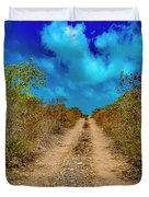 Middle Caicos Rocky Road Duvet Cover