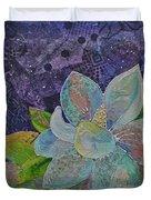 Midnight Magnolia II Duvet Cover