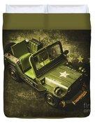 Military Green Duvet Cover