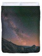 Milky Way Over Half Dome, Yosemite Duvet Cover