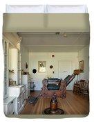 Milner Barbershop - Allensworth State Park Duvet Cover