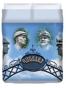 Miners Of Rugeley Duvet Cover