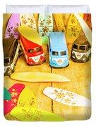 Mini Van Adventure Duvet Cover