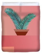 Minimal Tropic Duvet Cover