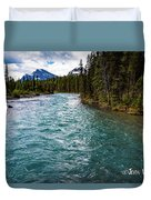 Mistaya River Blues Duvet Cover