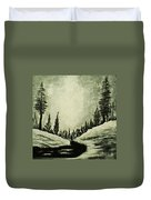 Misty Dawn Number Three Duvet Cover