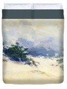 Misty Dunes Carmel Duvet Cover