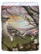 Mockingbird Sunset Duvet Cover