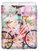 Mode Of Transport Duvet Cover