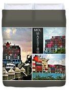 Mol Maestro Collage Duvet Cover