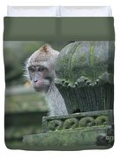 Monkey Forest Duvet Cover