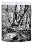 Monochrome Woods 2 Duvet Cover