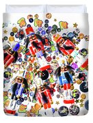 Monster Toy Soldiers Duvet Cover