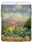 Mont Sainte-victoire, 1889 Duvet Cover