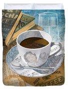 Morning Coffee Duvet Cover by Clint Hansen