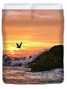 Morning Flight Serenity Duvet Cover