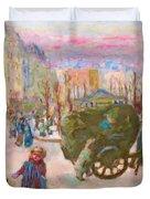 Morning In Paris - Digital Remastered Edition Duvet Cover