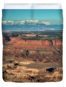 Morning Over Canyonlands Duvet Cover